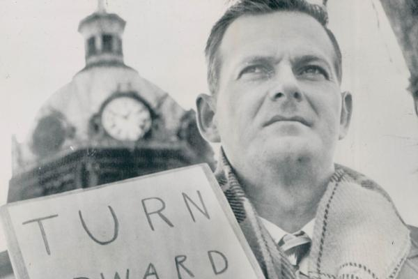Civil rights activist William Moore made several one-man marches for racial equality. In April 1963, he was killed during a march from Chattanooga, Tenn., to Jackson, Miss.