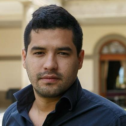 Salvadoran journalist Oscar Martinez is the author of <em>The Beast. </em>