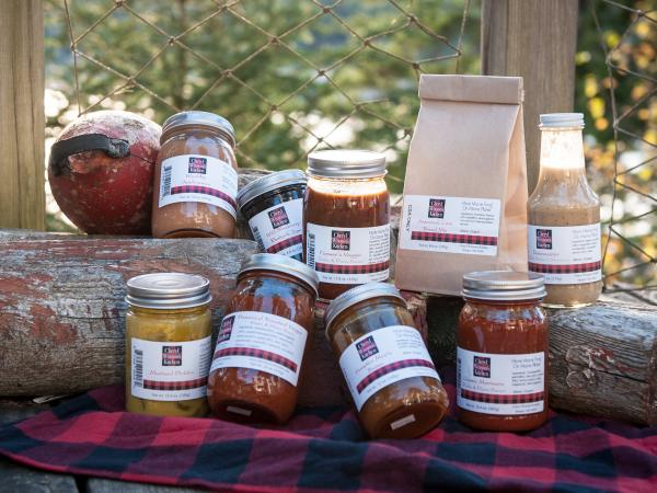 "For $300, a share from <a href=""http://cherylwixsonskitchen.com/csa/"">Cheryl Wixon's Kitchen</a> will get you 54 jars of pasta and pizza sauces, cranberry ketchups and fruit jams and butters delivered between November and April."