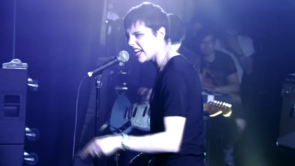 Savages, performing live at Chicago's Lincoln Hall