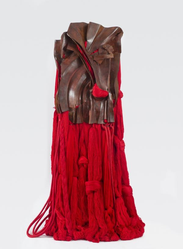<em>All That Rises Must Converge / Red,</em> Barbara Chase-Riboud
