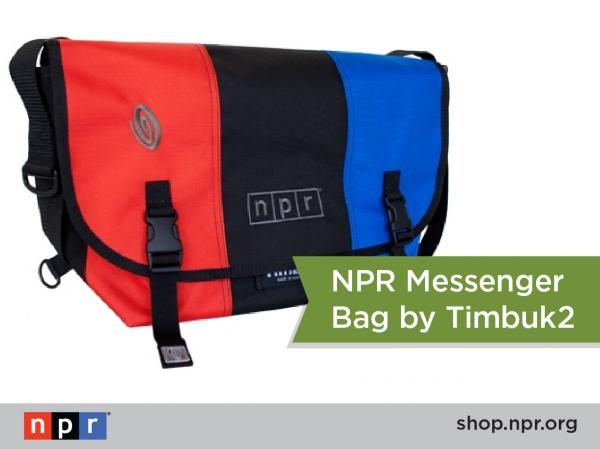 "Looking for your new favorite messenger bag? We've got you covered with this NPR Timbuk2 bag: <a href=""http://n.pr/18qxFF9"">http://n.pr/18qxFF9</a>"