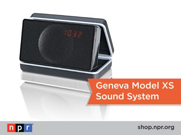 "Never miss your fave NPR shows when you're on the go with this sweet portable audio system: <a href=""http://n.pr/18qyeyL"">http://n.pr/18qyeyL</a>"
