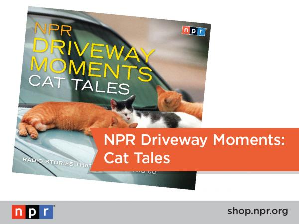 "Driveway Moments and Cats (aka some of our favorites things) shine in ""Cat Tales,"" just one of many great gift ideas this holiday season from the NPR Shop: <a href=""http://n.pr/1brInLu"">http://n.pr/1brInLu</a>"