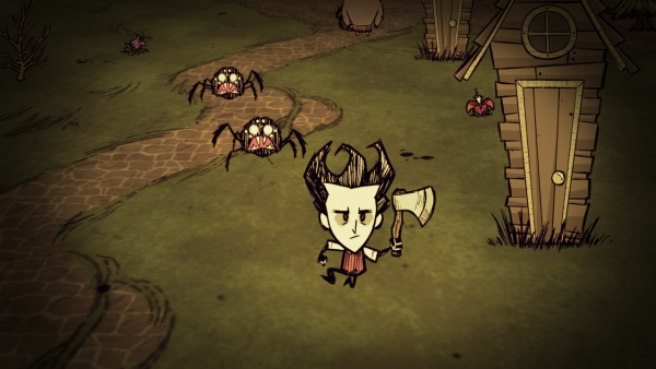 "The game Don't Starve casts you in the role of ""gentleman scientist"" Wilson, with just one goal: Survive. Its unique mix of survival horror and crafting gameplay, paired with a charming Tim Burton-esque art style, made this a standout game of 2013."
