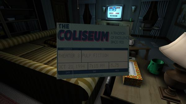 The story in Gone Home unfolds as the player walks around a house, opening drawers and closets, discovering letters, journals and other items.