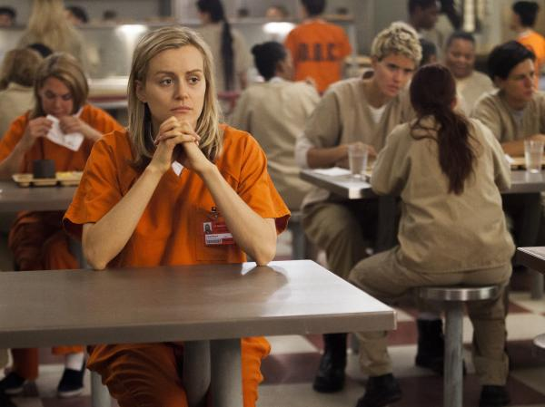 "Taylor Schilling plays Piper Chapman in Netflix's <em>Orange Is the New Black</em>, which is based on Piper Kerman's memoir of her year in prison. <a href=""http://www.npr.org/2013/08/12/211339427/behind-the-new-black-the-real-pipers-prison-story"">Hear an interview with Piper Kerman.</a>"