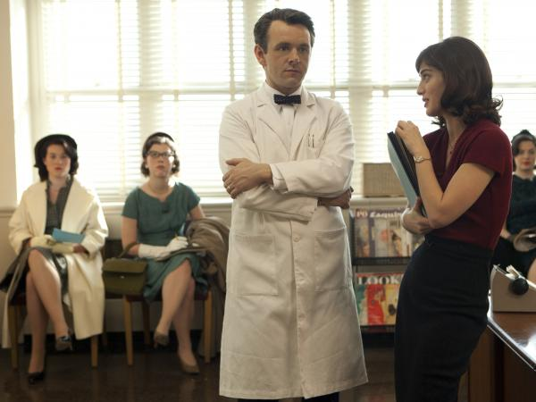 "Michael Sheen and Lizzy Caplan portray pioneering sex researchers William Masters and Virginia Johnson in the Showtime series <em>Masters of Sex,</em> based on a book by Thomas Maier. <a href=""http://www.npr.org/2013/07/30/206704520/pioneering-masters-of-sex-brought-science-to-the-bedroom"">Hear an interview with Maier</a>."