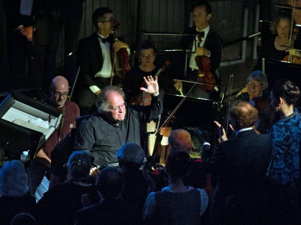 James Levine returned to the Met this year; he's seen here conducting Mozart's <em>Così fan tutte</em> Sept. 24.