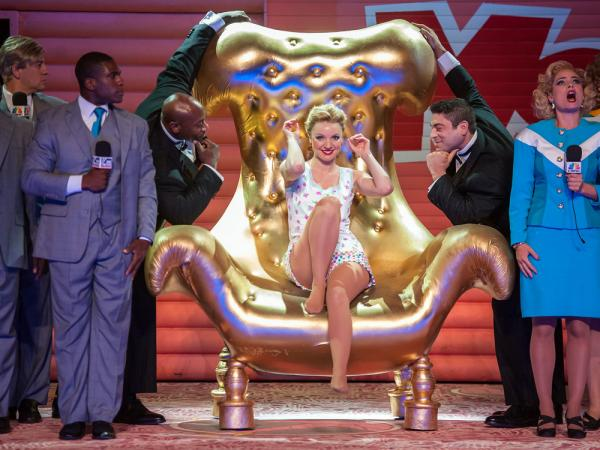 Sarah Joy Miller as Anna Nicole Smith in <em>Anna Nicole </em>by Mark-Anthony Turnage, the final production from the New York City Opera, which closed its doors for good this fall.