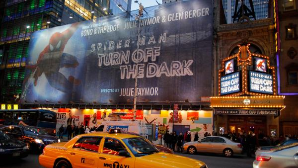 """Dark"" day: On Dec. 20, 2010, actor Christopher Tierney suffered a harrowing fall and severe injuries during a performance of <em>Spider-Man: Turn Off the Dark. </em>The show updated its safety protocols, and Tierney returned to his roles in April 2011."