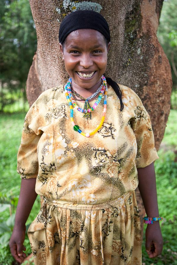 When Ajayibe was 22, she tried to kill herself after being shunned by her family. Surgery could not repair the hole in her birth canal, but her story helped inspire an American photographer to start a project to benefit women with fistula. Proceeds from the project have enabled Ajayibe to have livestock of her own.