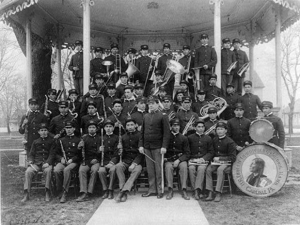 The Carlisle Indian Industrial School became a model for dozens of other boarding schools for Native Americans. The government would eventually make attendance compulsory for Native children.