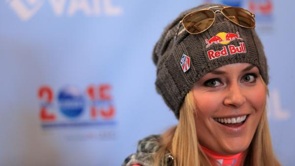 Skier Lindsey Vonn in Vail, Colo., in November. Vonn's high profile has won her several lucrative commercial sponsors, including Red Bull, Procter & Gamble, Under Armour and Rolex, among others.