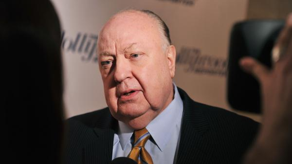 """Fox News Channel chief Roger Ailes attends a 2012 <em>Hollywood Reporter</em> celebration of """"The 35 Most Powerful People in Media"""" in New York City."""