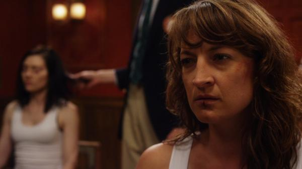 In <em>Raze</em>, stunt performer and actress Zoe Bell plays Sabrina, a woman kidnapped and forced to fight for her life in an underground tournament.