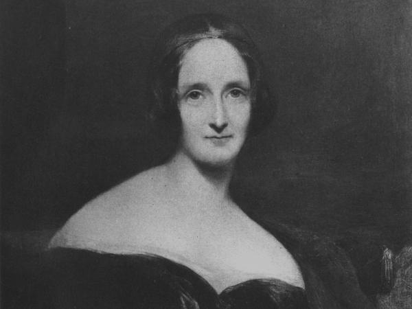 An image of author Mary Shelley, circa 1830.