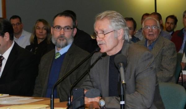 Gov. John Kitzhaber tells the Oregon Board of Forestry about his vision for improving federal forest management.