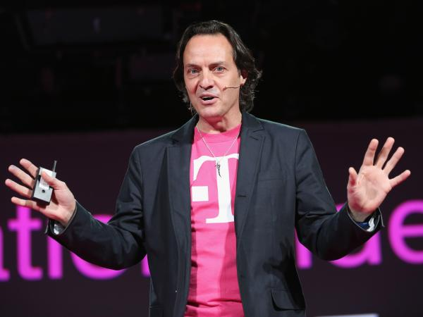 John Legere, CEO and president of T-Mobile USA, crashed rival AT&T's Consumer Electronics Show party and won a slew of free publicity as a result.