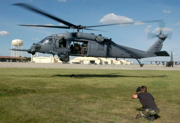 File photo of a Pave Hawk helicopter.