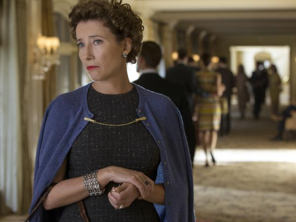 In <em>Saving Mr. Banks</em>, Emma Thompson plays <em>Mary Poppins</em> author P.L. Travers, who, Thompson says, hated the whole idea of having her book made into a film.