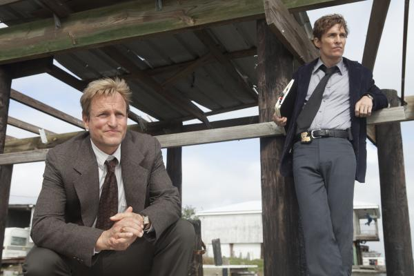 Woody Harrelson and Matthew McConaughey star in HBO's series <em>True Detective</em>.