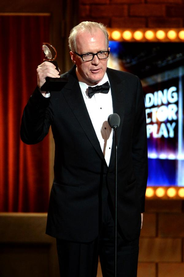 A performer as well as a playwright, Tracy Letts took home the Tony Award for leading actor in <em>Who's Afraid of Virginia Woolf? </em>in June 2013.