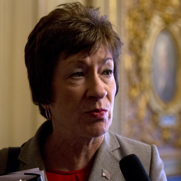 Sen. Susan Collins, R-Maine, says that both parties have compassion for the poor. The difference is in how they try to help.