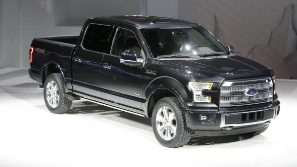 At Detroit's North American International Auto on Monday, Ford unveiled the new F-150 with a body built almost entirely out of aluminum.