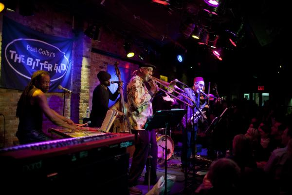 The Jazz Passengers, founded by trombonist Curtis Fowlkes and saxophonist Roy Nathanson, started out in 1987.