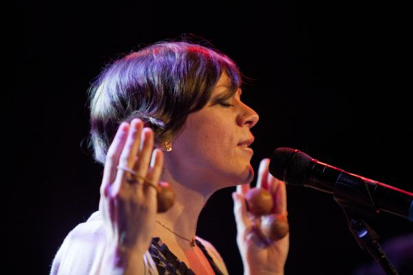 Gretchen Parlato led her quartet in one of the marquee bookings of Winter Jazzfest's two-night marathon.