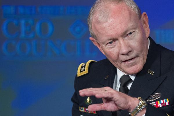 Gen. Martin E. Dempsey, Chairman of Joint Chiefs of Staff, in November of 2013.