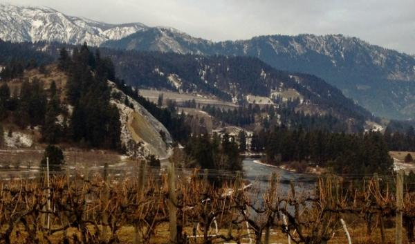 A view from the route along North Road in Peshastin, Wash. The proposed route would take county roads all the way from Wenatchee to Leavenworth and back.