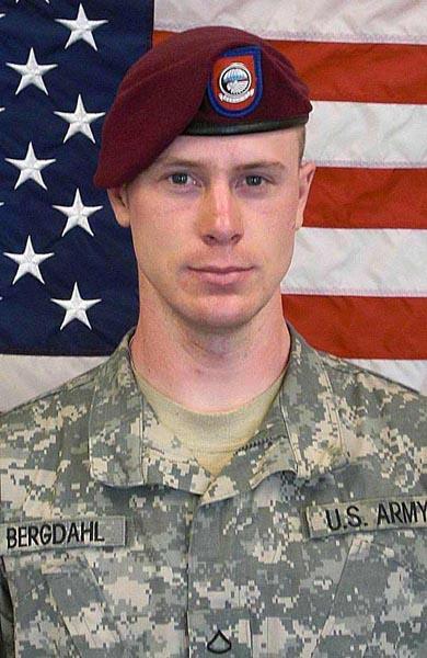 U.S. Army photo of captured Idaho soldier Bowe Bergdahl