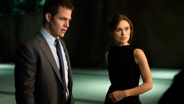 Chris Pine and Keira Knightley anchor <em>Jack Ryan: Shadow Recruit,</em> opposite Kevin Costner as a CIA veteran and Kenneth Branagh as the story's big bad.