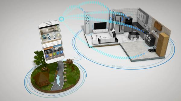 Samsung is one of the companies making smart home appliances.