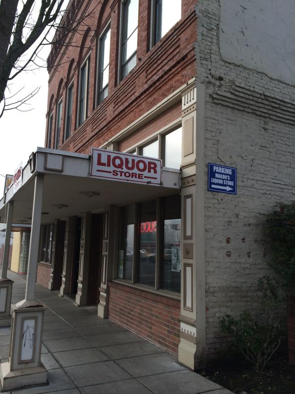 he Oregon Liquor Control Commission sells liquor through about 240 contracted small stores like this one in Salem.