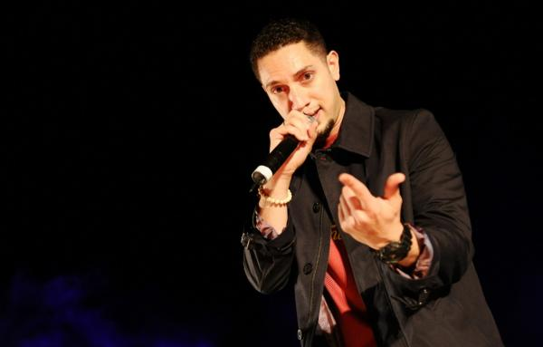 Omar Offendum performs at the 2012 Doha Tribeca Film Festival on November 18, 2012 in Doha, Qatar. (Michael Loccisano/Getty Images for Doha Film Institute)