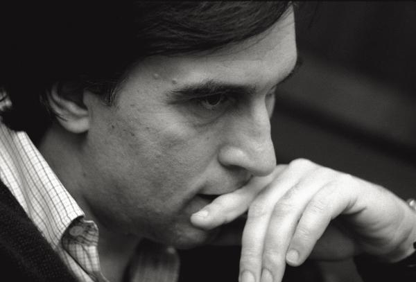Celebrated conductor Claudio Abbado in 1979 in his native Milan, during his tenure as music director of the city's famed opera house, La Scala.