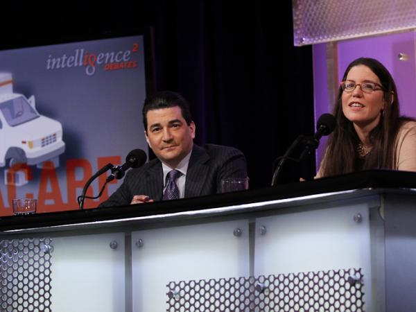 "Scott Gottlieb and Megan McCardle argue in favor of the motion, ""Obamacare is now beyond rescue."""