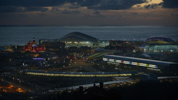 Olympic Park in the Russian Black Sea resort of Sochi. NPR will bring you the most interesting things we see and learn from the 2014 Winter Olympics. The first events are on Feb. 6, one day before the opening ceremony.
