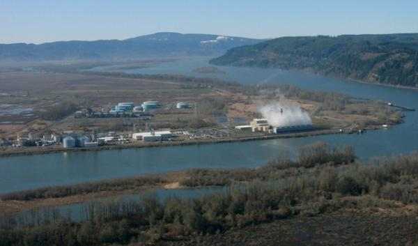 One of two methanol plants proposed for the Northwest would be built at Port Westward near Clatskanie.