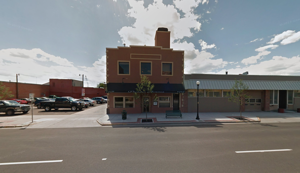 Pictured is the building in Cheyenne, Wyo.,  registered to the Internet address that received the Chinese web traffic. (Google Streetview)