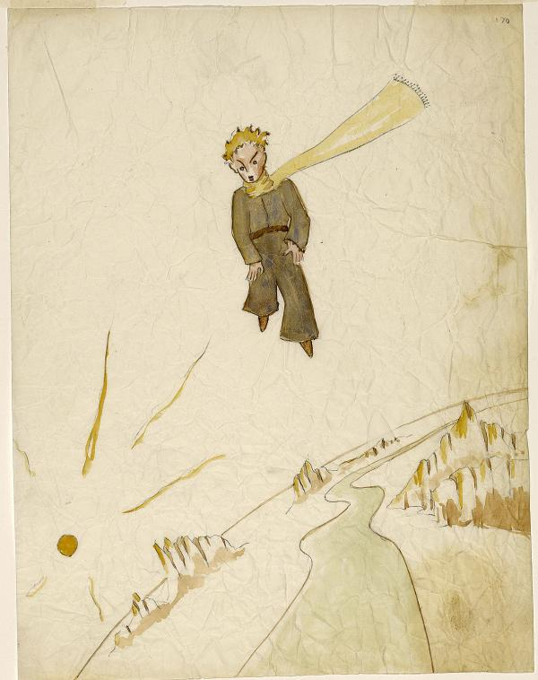 Published in 1943, The Little Prince is one of the world's most beloved books. AuthorAntoine Saint-Exupery wrote and illustrated the book in New York, between Long Island and Manhattan.