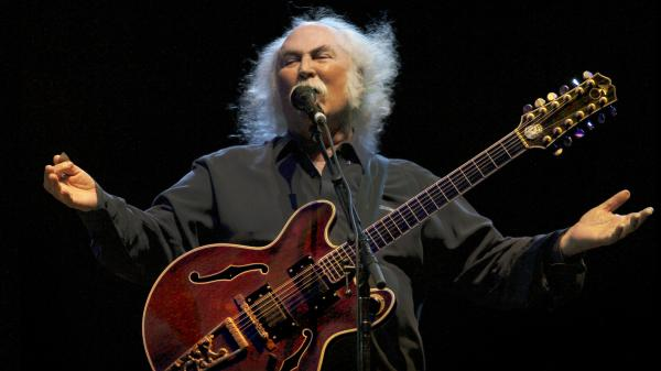 David Crosby's new solo album, his first such release in two decades, is called <em>Croz</em>.
