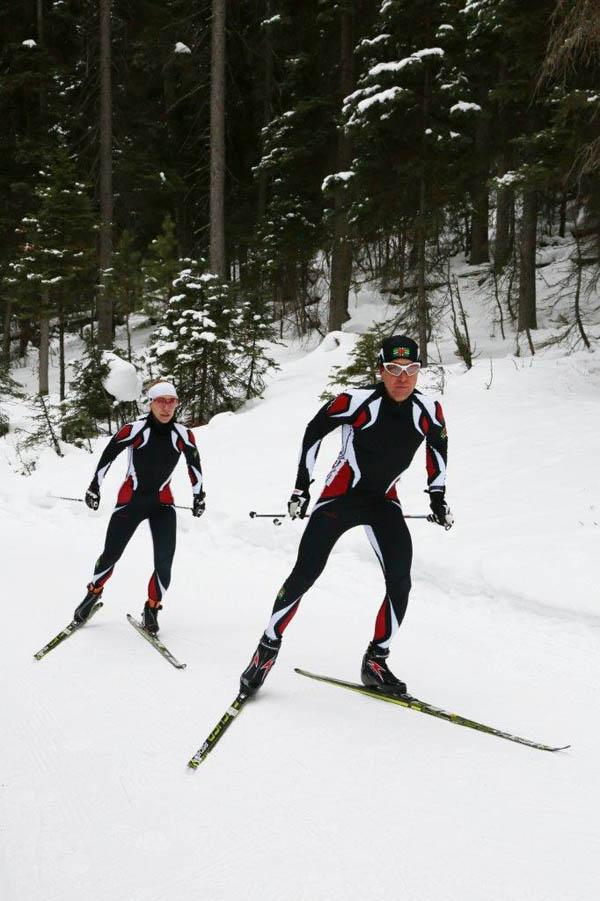 Gary and Angelica Morrone di Silvestri will be skiing for Dominica in Sochi.