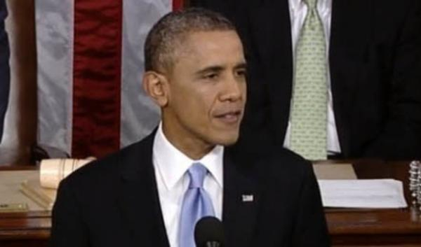 Energy and the environment both got brief mentions in President Obama's State of the Union address Tuesday night. The president pushed natural gas and solar power as ways to reduce carbon pollution.