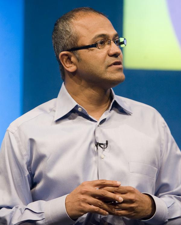 Satya Nadella, who's reportedly in line to be Microsoft's next CEO.