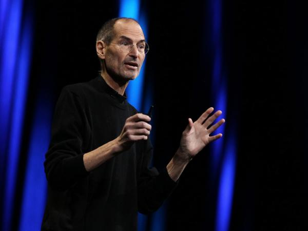 <p>Former Apple CEO Steve Jobs has died at age 56. Here, he delivers the keynote address at the 2011 Apple developers conference. For the event, Jobs returned from sick leave to introduce a new iCloud storage system and the next versions of Apple's iOS and Mac OSX.</p>