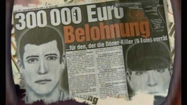 Germany has been rocked by allegations that a small, underground neo-Nazi group calling itself the Nationalist Socialist Underground carried out a 13-year-long crime spree that included murder, robbery and bombing. Here, a screen shot from a promotional DVD reportedly made by neo-Nazis Uwe Mundlos and Uwe Boenhardt. The two men committed suicide earlier this month.
